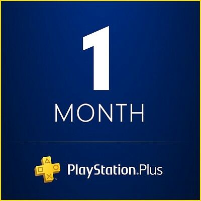 PSN 1 Month PlayStation PS Plus PS4-PS3-Vita(NO CODE)FAST SERVICE FROM 10AM-12AM