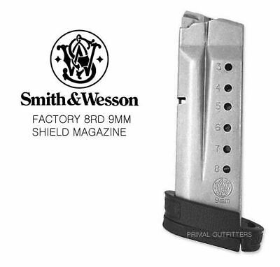 Smith & Wesson M&P Shield 9mm 8 Round Magazine 19936 Factory OEM S&W 8rd Clip