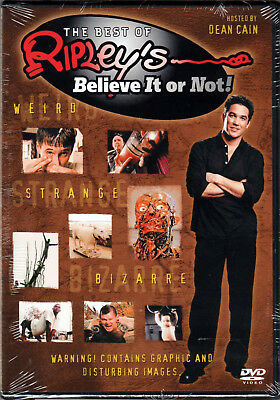THE BEST OF RIPLEY'S BELIEVE IT OR NOT Movie on a DVD Reality TV SHOW Videos NEW