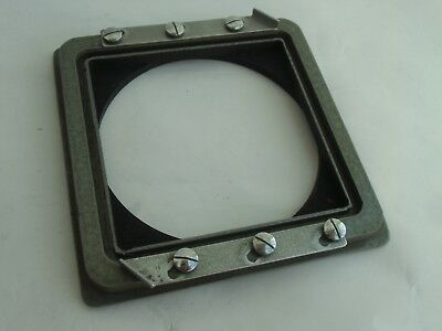 Speed Graphic lens board (panel) adapter for RittreckView (Rittreckーview) camera