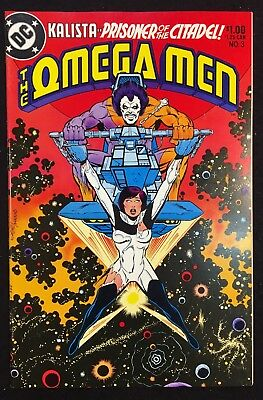 Omega Men (1983) #3 VF+ (8.5) 1st app Lobo