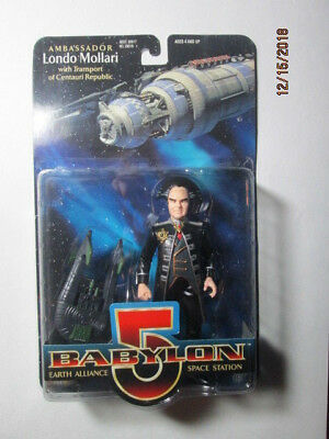 1997 Babylon 5 Collector Series Figures - Londo Mollari W/ Transport