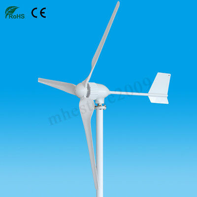 1000W 24V/48V Horizontal Wind Turbine Generator 3 Blades Power Charge