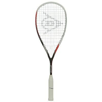 NEW $120 Dunlop SQR Biometic Pro Lite Elite World Squash Racquet Aeroskin White