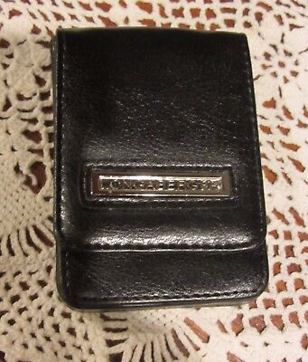 Black Business Credit Card Case  Longaberger Purse Accessory NWT