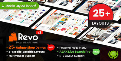 Revo v3.2.0 - Multi-purpose WooCommerce WordPress Theme