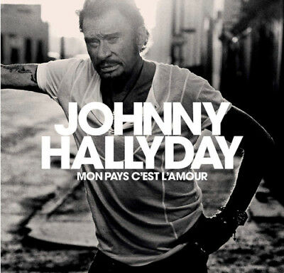Mon pays c'est l'amour - Edition Collector CD + Livre 28 pages johnny HALLYDAY -