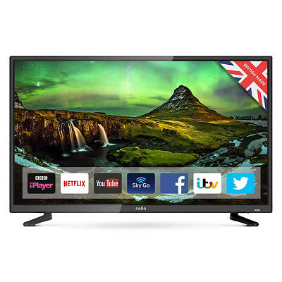 "Cello C32Sfs 32"" Superfast Android 7 Smart LED TV with Wi-Fi and Freeview T2 HD"