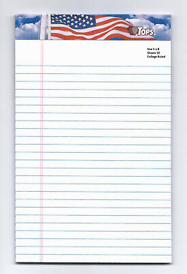 Do List Tablet Magnet 5 x 8 American White 50 Sheet Notepad
