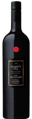 Penny's Hill `The Specialized` Shiraz Cab Merlot 2016 (6 x 750mL), SA.