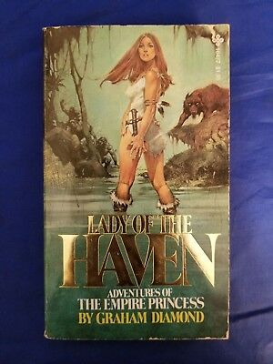 Lady Of The Haven Graham Diamond Playboy #16477 1978 1st Prt Fantasy GGA VG-
