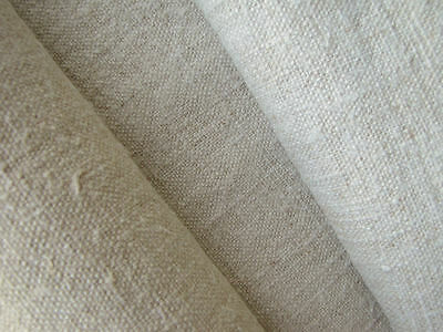 Antique linen fabric 3YD linen upholstery slipcover