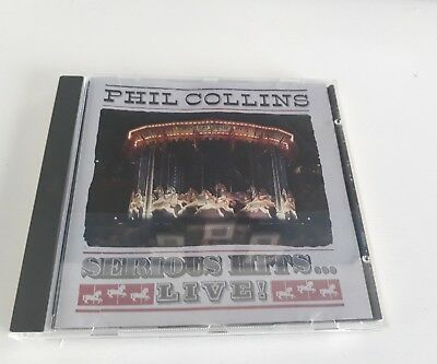 Phil Collins: Serious Hits...Live! CD Album (Greatest Hits/Very Best of) Genesis