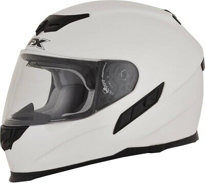 AFX FX-105 Solid Full Face Motorcycle Helmet All Colors/Sizes