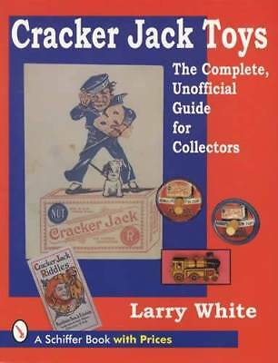 Vintage Cracker Jack Toys Collector Guide 1910-Up inc Tin, Cards, Pin Backs, Etc
