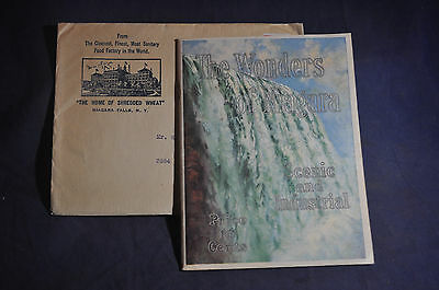 1913 MINT The Wonders of Niagara -Scenic and Industrial- Shredded Wheat-ENVELOPE