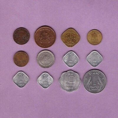 INDIA - (1920-2002) - Coin Collection Lot - World/Foreign/Asia