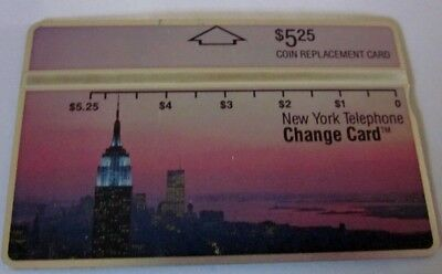 Nynex Coin Replacement  Card = Empire State Building $5.25
