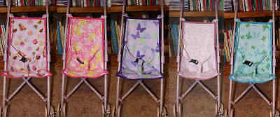 Doll Pram / Stroller Replacement Cloth Seat Sling