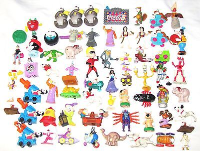 63--HAPPY MEALS TOYS--MOSTLY McDONALD'S