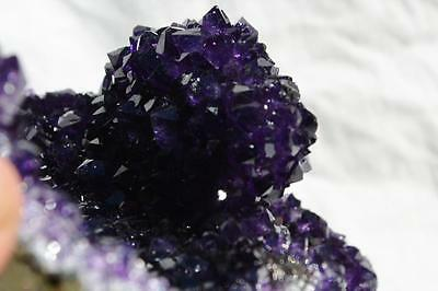 "8797 Purple Amethyst Geode Cathedral Cluster URUGUAYAN 7.5"" Free Standing 190mm"