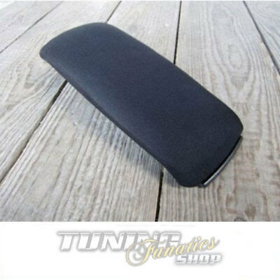 Lid Cover Fabric Black Center Armrest Accessories for Audi A4 S4 8E B6 B7 8H