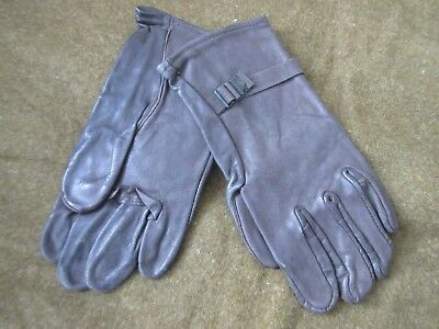 Original Us Army Leather Gloves Gloves Glove Shell Leather M-1949 Gr3 WK2 WWII
