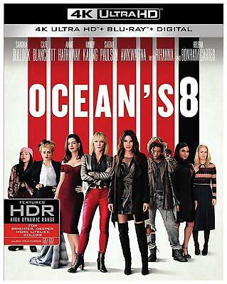 Ocean's 8 (4K Ultra HD + Blu-ray + Digital) (4K Ultra hd) w/o slipcover