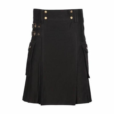 Utility kilt Made of Cotton Hand made/All sizes are available/Standard shipping