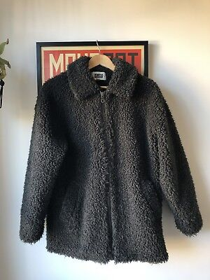 Men S Our Weekday Teddy Rug Coat Jacket Small Sold Out Everywhere Legacy End