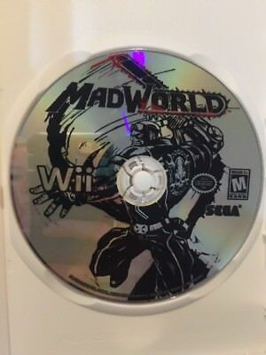 MadWorld (Nintendo Wii, 2009) Game Disc Only