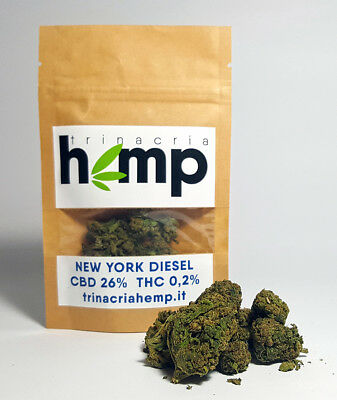 Cannabis CBD New York Diesel TRINACRIA HEMP