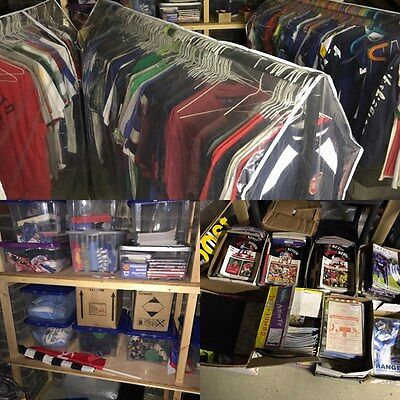 Business For Sale - Football Memorabilia - Gifts Souvenirs Shirts Badges Bundle
