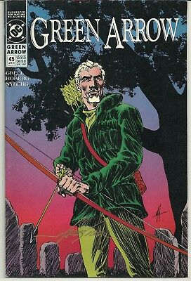 Green Arrow 45 Signed Mike Grell Autographed DC Black Canary