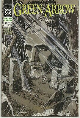 Green Arrow 44 Signed Mike Grell Autographed DC Black Canary