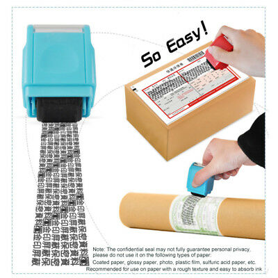 Identity Theft Protection Roller Stamp Guard Your ID Privacy