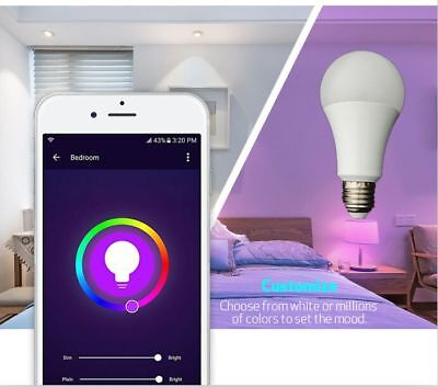 WiFi Smart E27 LED 4.5W - Compatible with Alexa and Google home