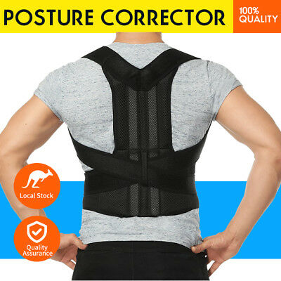 Breathable Posture Corrector Adjustable Shoulder Back Lumbar Support Brace Belt