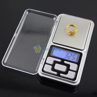 200g 0.01g Pocket Digital Scale Precision Jewellery Balance Weight Gram Scales