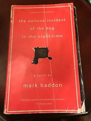 Book The Curious Incident of the Dog in the Night-Time by Mark Haddon