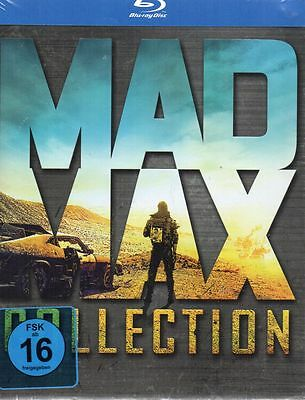 Mad Max Collection (Limited Edition) - BluRay - Neu / OVP
