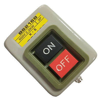 AC 500V ON-OFF START STOP Momentary Push Button Switch