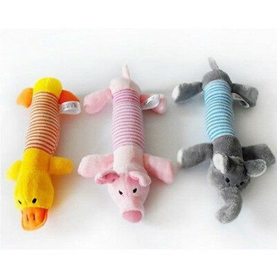 Funny Soft Pet Puppy Chew Play Squeaker Squeaky Cute Plush Sound For Dog Toys