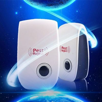 Pest Ultrasonic Repeller Control Rodent Rat Mouse Spider Mice Deterrent Reject