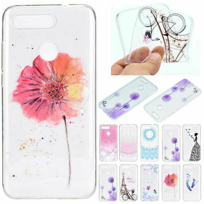 For Huawei P Smart 2019 Clear Back Case Ultra-thin Soft Silicone Rubber Cover