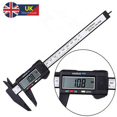 6'' 150mm LCD Digital Vernier Caliper Micrometer Measure Tools Gauge Ruler