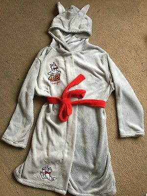 Official Disney Thumper Bambi Ladies Grey Dressing Gown Robe Primark