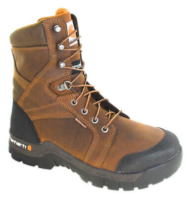 99ca567c13a CARHARTT BROWN CAMOUFLAGE 8-inch Boot 8M 8 Medium CMF8379 Composite ...