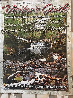 Wisconsin Winter Area Visitors Guide, Heart Of Tuscobia Trail & Chippewa Flowage