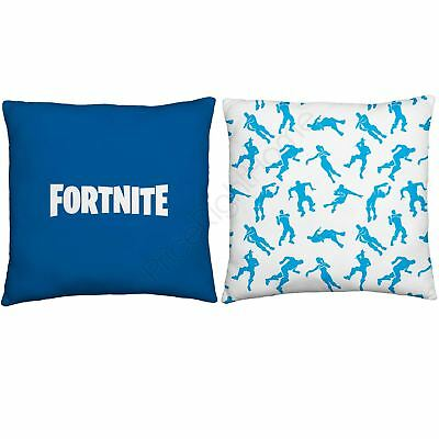 Official Fortnite Battle Royale Emotes Silhouettes Cushion Reversible